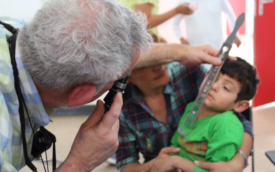 Video kinderoogproject strabisme i.s.m. team Healing the Children april 2018