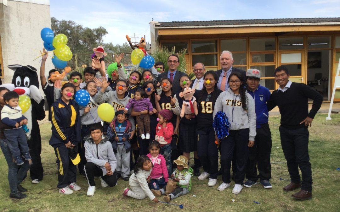 Bezoek van de Nederlandse Ambassadeur in Peru Dhr.Wiebe de Boer