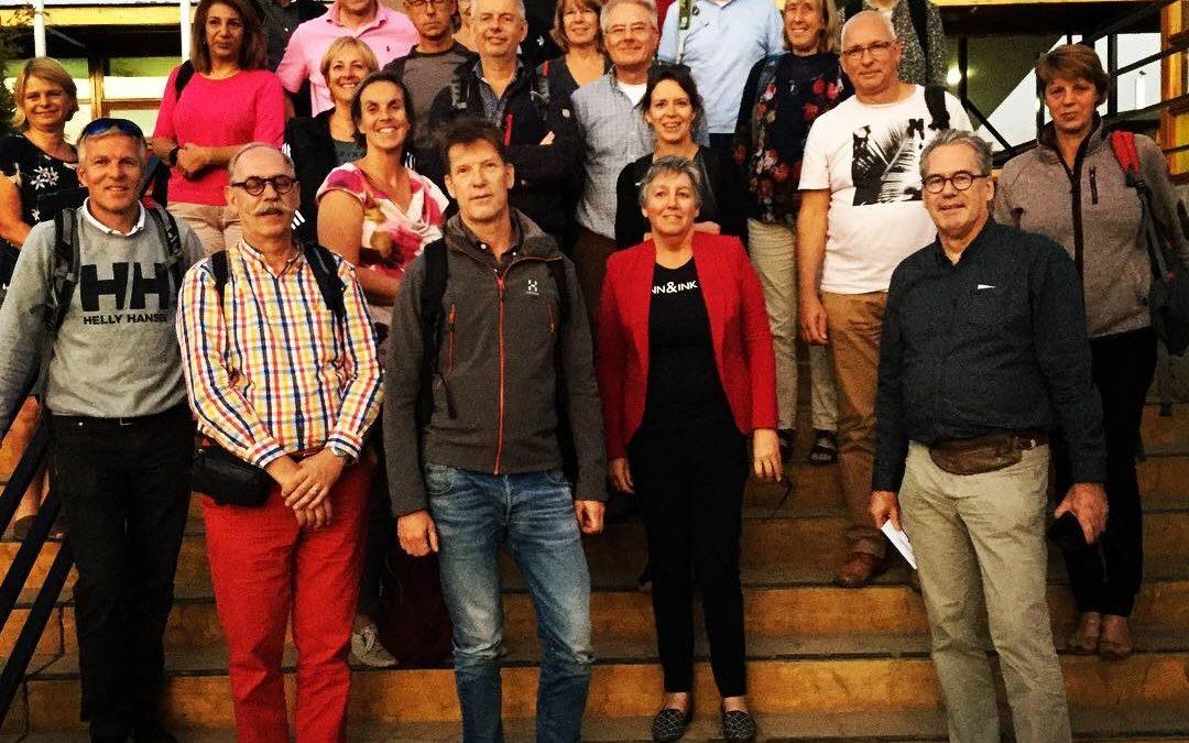 25 Nederlandse huisartsen op bezoek