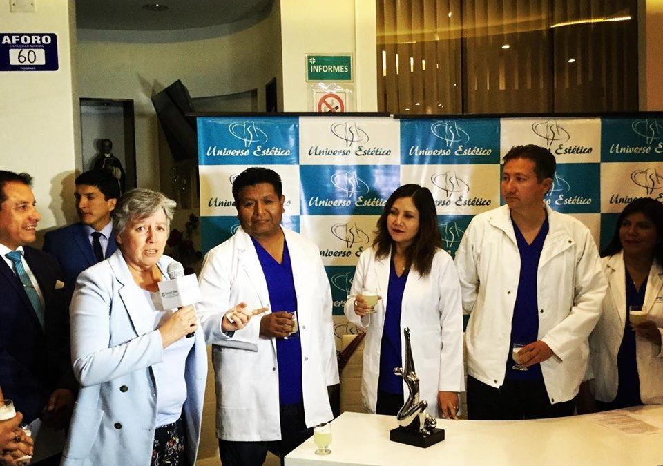 Peruaanse plastisch chirurgen worden opgeleid