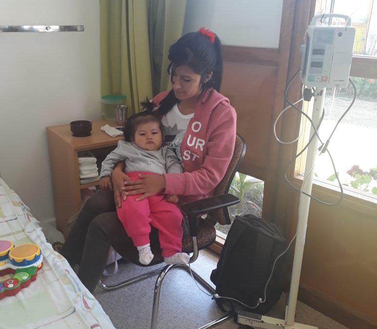 Abigail en Milagros, twee spinabifidapatientjes