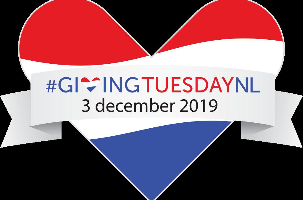 #GivingTuesdayNL 3 december 2019