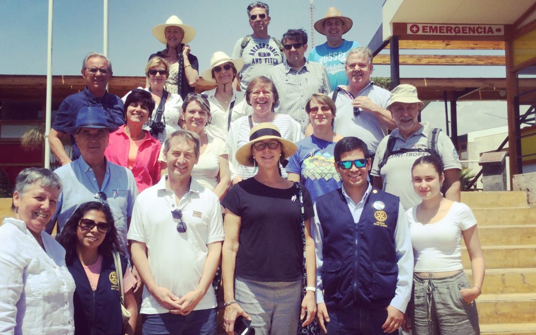 Rotarians uit Frankrijk op bezoek