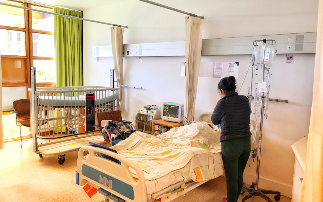 Kinderafdeling van het Hospital General nu in ons ziekenhuis