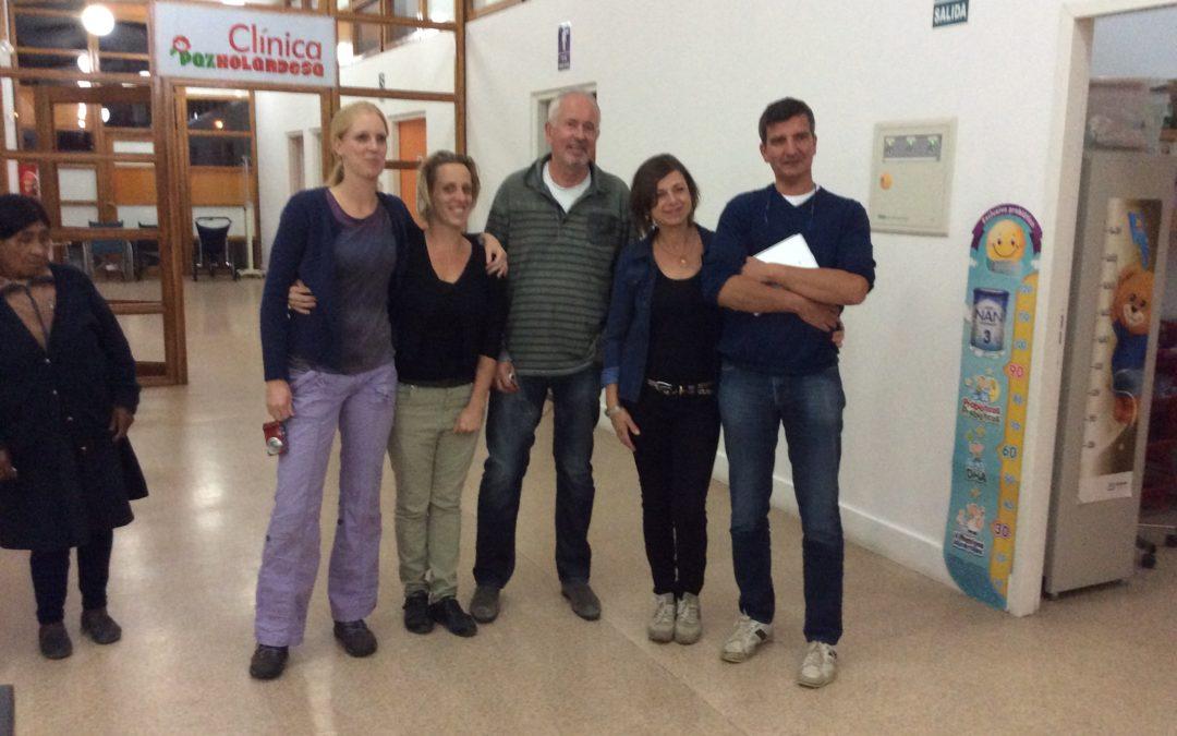The team of Dr.Reinier van Twisk, plastic surgeon, gave 50 children a new smile
